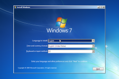 1. Windows 7 Installation