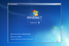 2. Windows 7 Installation