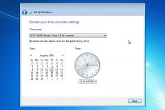 20. Windows 7 Installation
