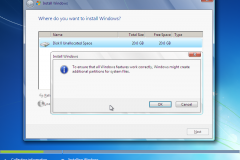 7. Windows 7 Installation