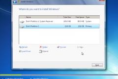 8. Windows 7 Installation