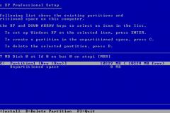 6. Windows XP Installation