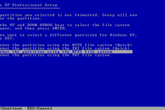 7. Windows XP Installation