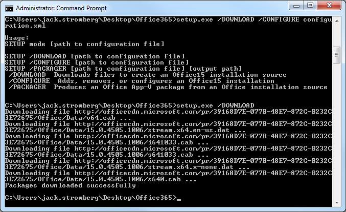 Office365 Download Offline Files