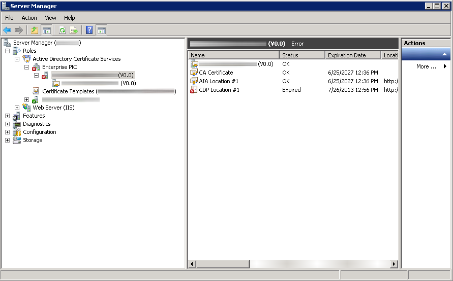 Enterprise Pki Cdp Location 1 Expired Jack Stromberg