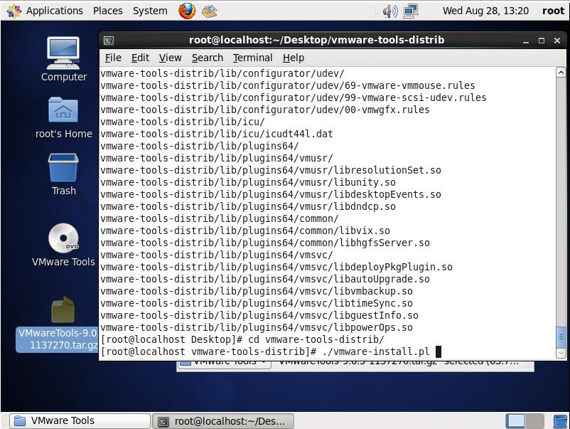 vmware-install.pl