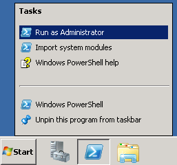 Elevated Powershell