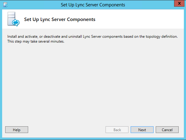 Set up Lync Server Components