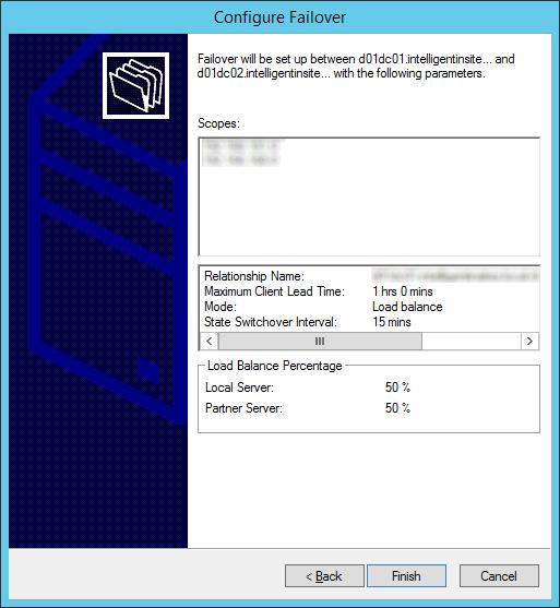 Configure Failover - Summary