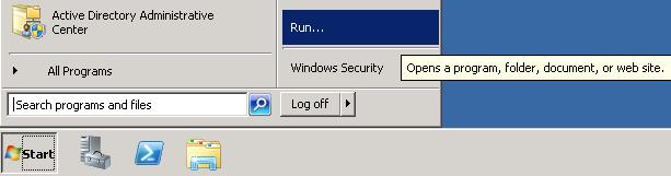 Start-Run