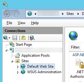 IIS - Default Web Site