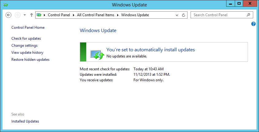 Latest Windows Updates