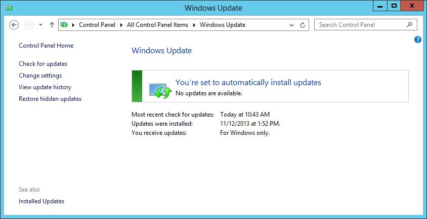 Latest Windows Updates