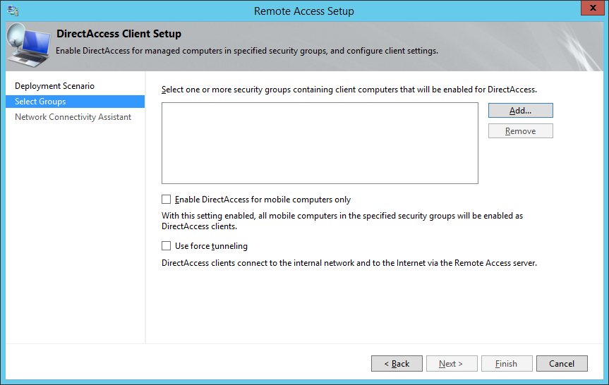 Tutorial] Configuring Direct Access on Server 2012 R2 | Jack