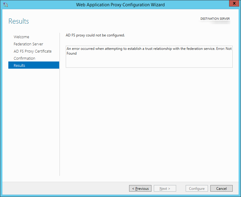 Tutorial] Upgrading from ADFS 2 0 (Server 2008 R2) to ADFS 3 (Server