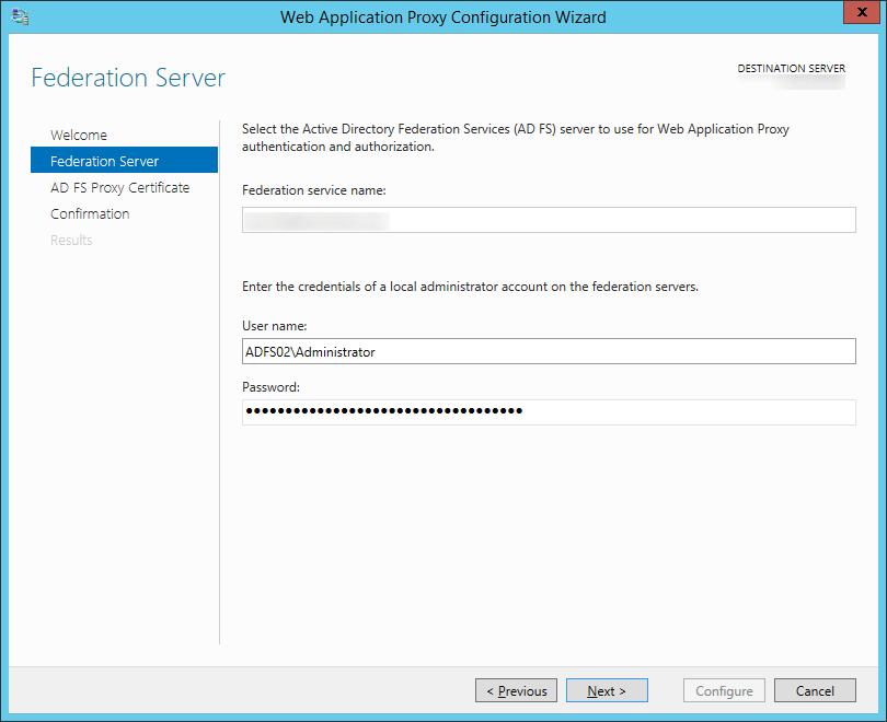 Web-Application-Proxy-Configuration-Wizard-Federation-Server