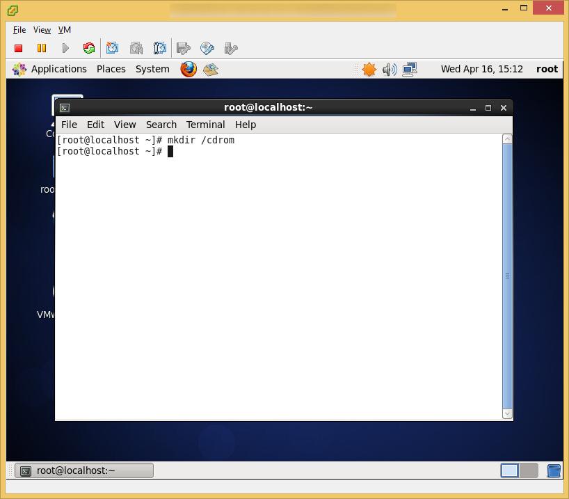 CentOS6 - VMware Tools - New Mount Point