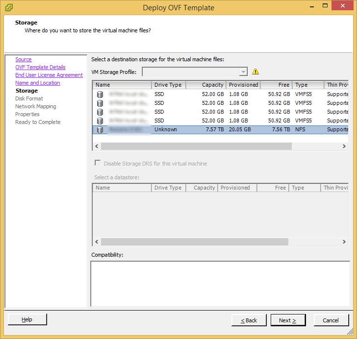 Deploy OVF Template - vShield Manager - Deploy OVF Template