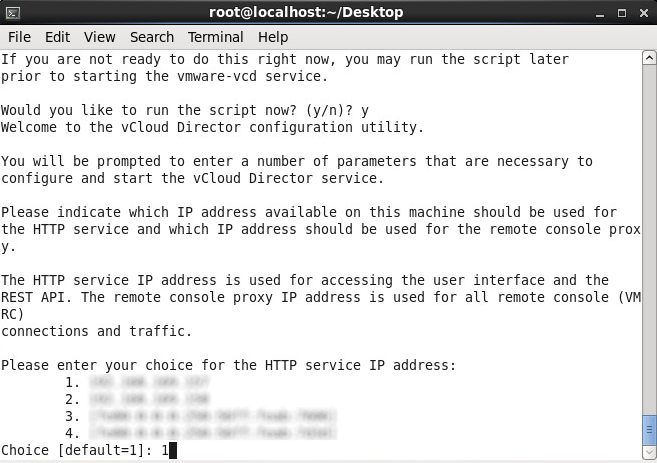 Install vmware-vcloud-director-5.5 - HTTP service adapter