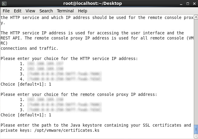 Install vmware-vcloud-director-5.5 - Java keystore - SSL Certificates
