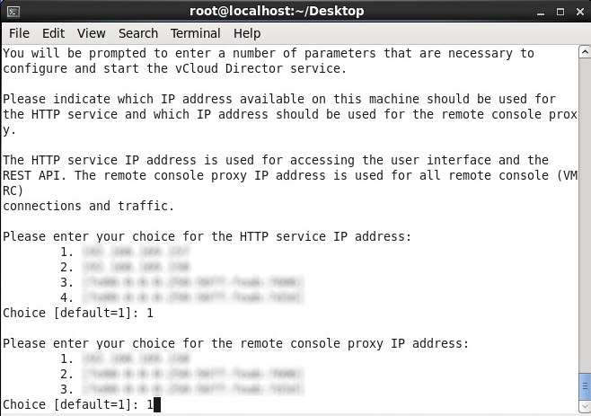 Install vmware-vcloud-director-5.5 - Remote console proxy adapter