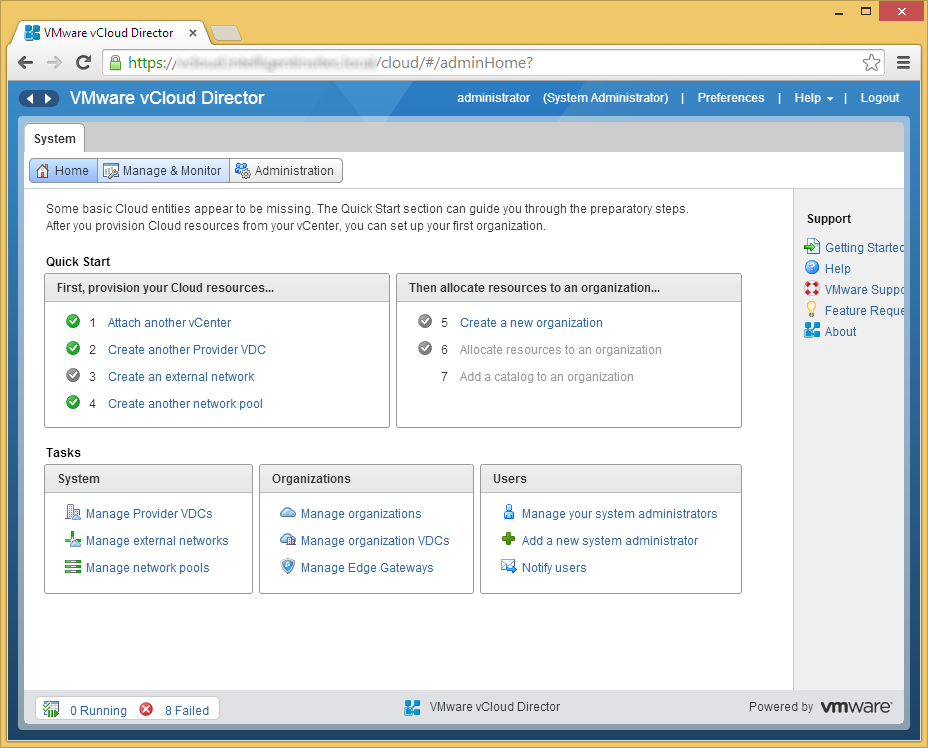 vCloud Director - Manage & Monitor