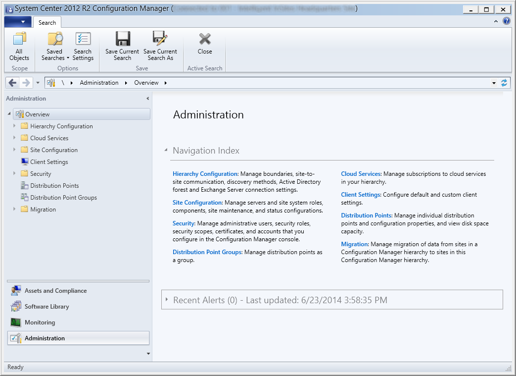 System Center 2012 R2 Configuration Manager - Administration