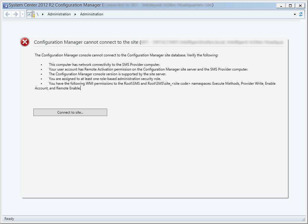 System Center 2012 R2 Configuration Manager – Configuration