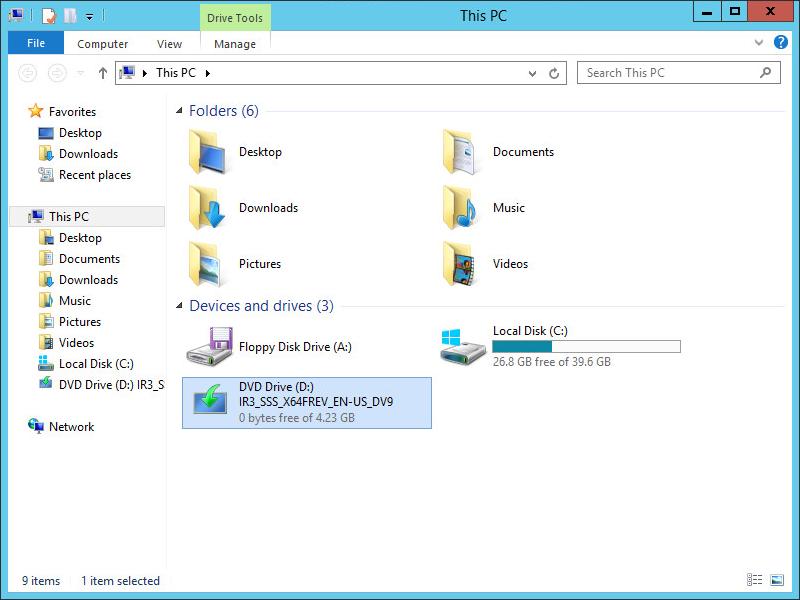Server 2012 - Installation Media