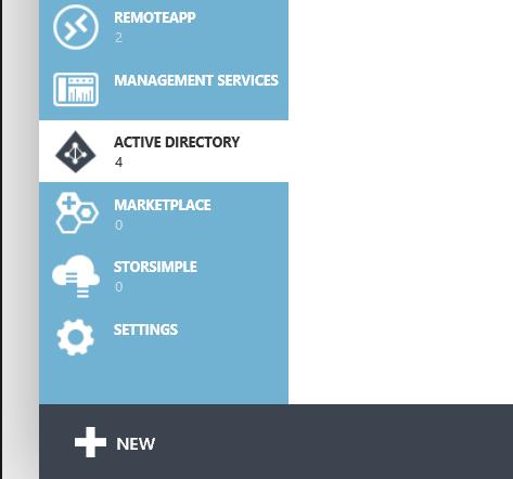 Azure Active Directory - Classic Portal