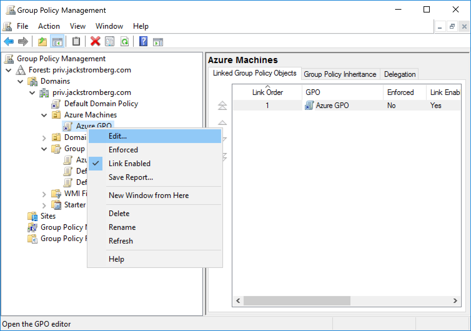 Configuring time for Azure IaaS Domain Joined Machines