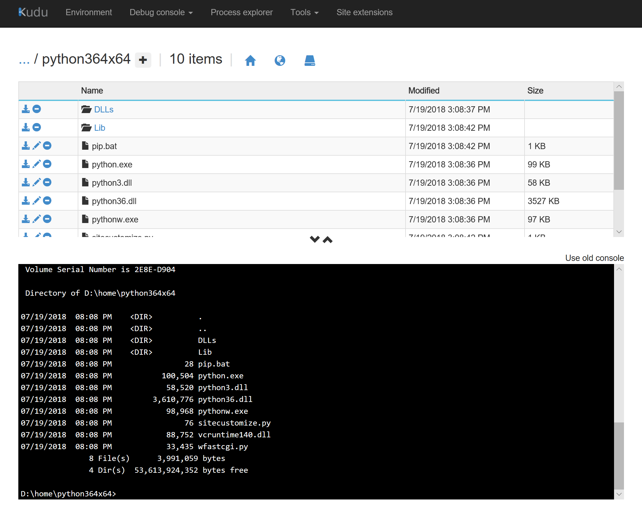 Installing Python Wheel files on an Azure App Service | Jack