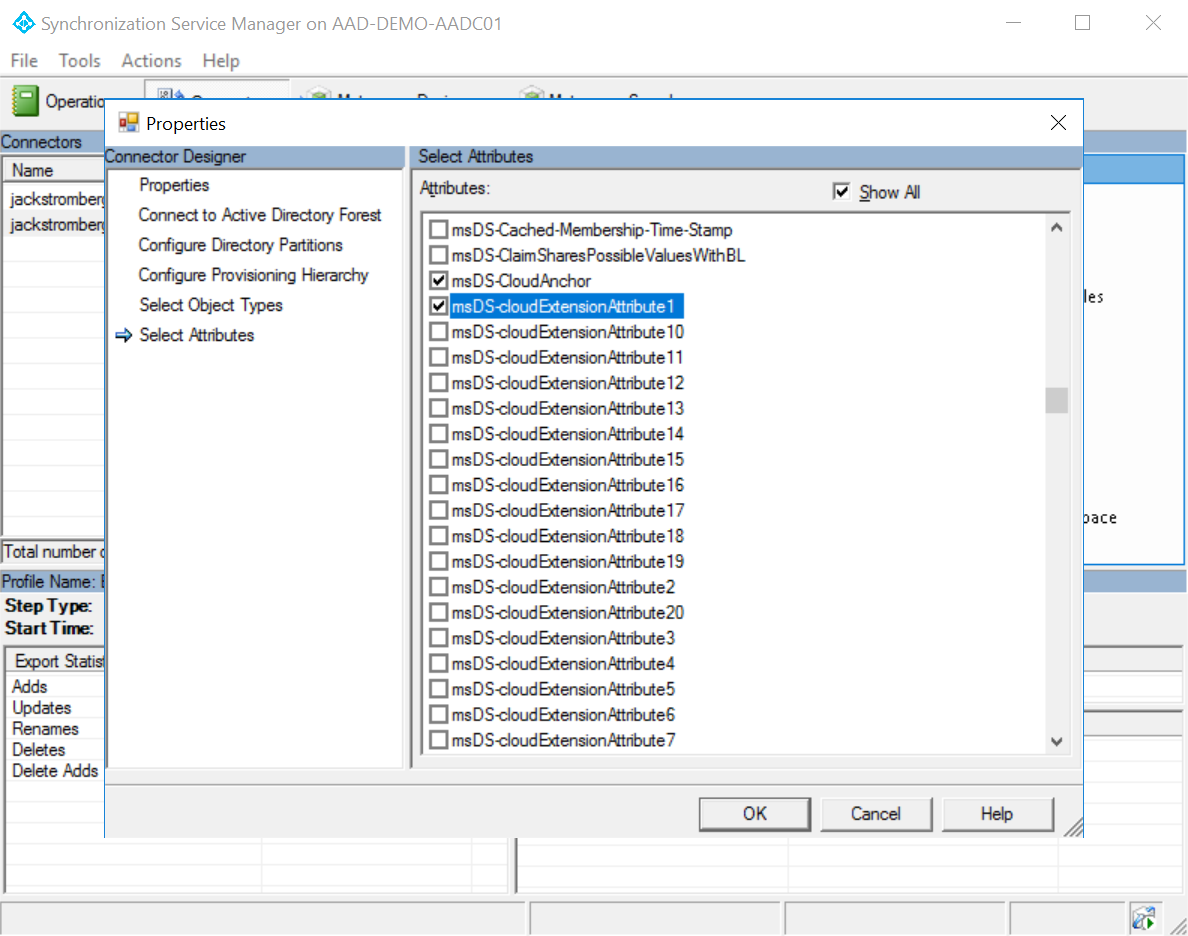 How to hide users from the GAL in Office 365 synchronized from on